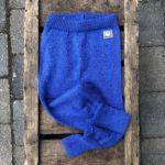 Ullbukse blå