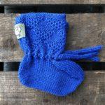 Babysokk blå
