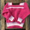 Barnegenser rosa m/striper
