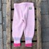 Ullbukse rosa m/striper
