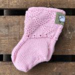 Babysokk rosa